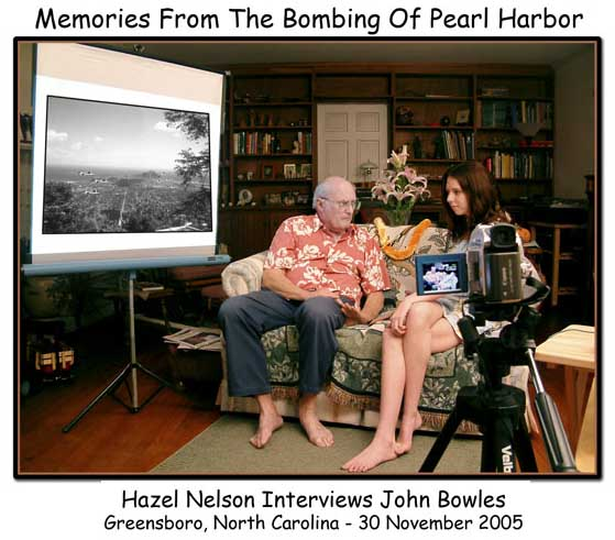 Click to see Hazel's interview with John